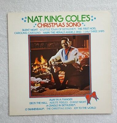 NAT KING COLES CHRISTMAS SONGS 1976 CAPITOL MFP LP MFP 50313 Excellent Condition
