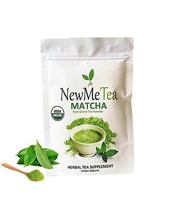 NewMeTea 30 Serving Matcha Green Tea Powder Organic Natural Energy Detox/cleanse