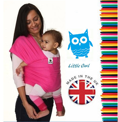 BABY WRAP SLING Summer breathable, Silky Soft and extra light - BOLD COLOURS!!!