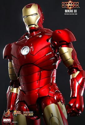 Hot Toys Iron Man Mark Iii Diecast 1:6 Figur  Neu