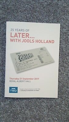 BBC 25 Years Of Later With Jools Holland Programme - Foo Fighters, Van Morrison