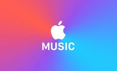 3 Month Apple Music subscription Gift Voucher