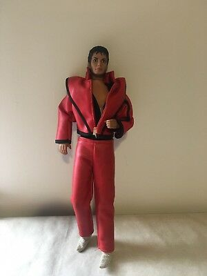 Michael Jackson Doll Action Figure, Red Outfit