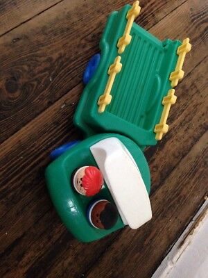 Vintage Weebles Car And Figures