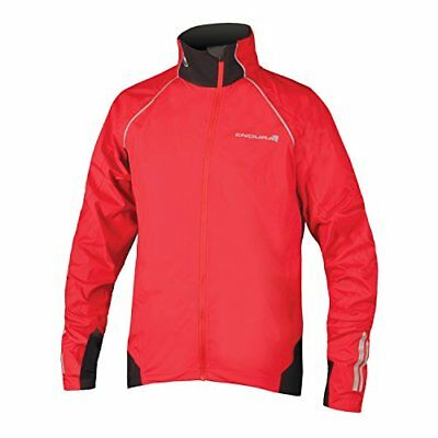 Endura Helium Cycling Jacket - Men's (Red / (S) Small)
