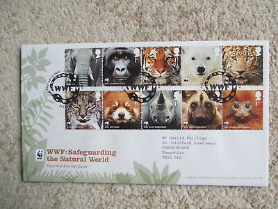2011 Wwf First Day Cover, Godalming Special Handstamp