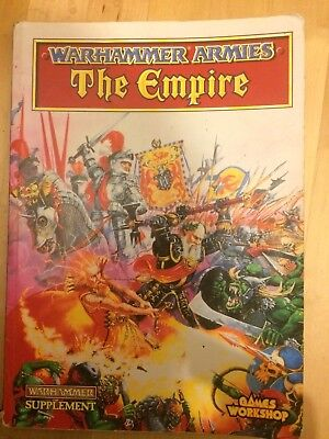 "Classic ""the Empire"" Warhammer Army Book"