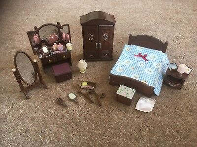 Sylvanian Families- The Master Bedroom Set- Excellent Condition