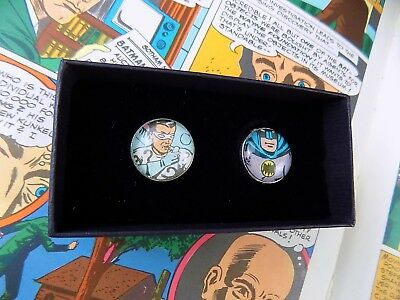Vintage Tie Lapel Pin Tack Made from 1970's Batman Comic (PIN400)