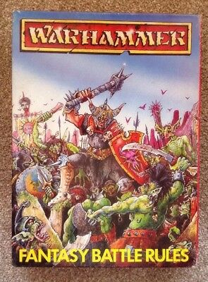 Warhammer Fantasy Battle Rules - Boxed.