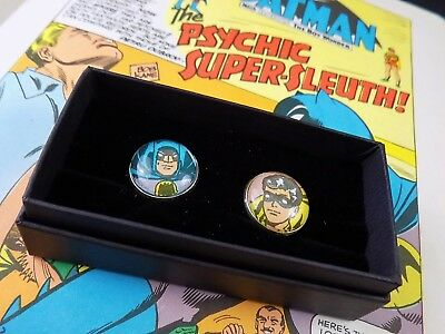 Vintage Tie Lapel Pin Tack Made from 1970's Batman Comic (PIN401)