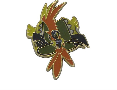 NEW Tapu Koko Pokémon Pin Badge Brooch Gold/Silver/Metal - FREE DELIVERY