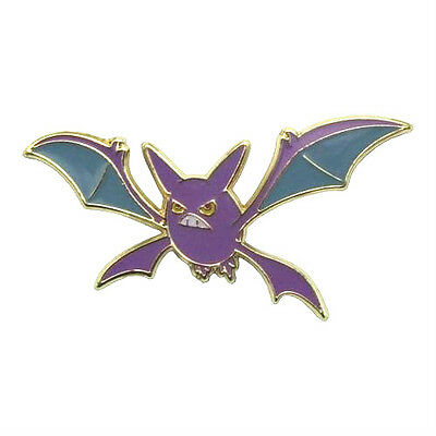 NEW Crobat Pokémon Pin Badge Brooch Gold/Silver/Metal - FREE DELIVERY