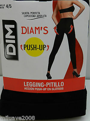 LEGGING-PITILLO DIM ultra tupido 180D Acción push-up en glúteos T. 4/5 (L) negro