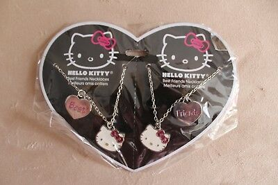 Hello Kitty 2 Best Friends Necklaces New RRP £8 Girls Jewellery