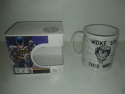 Mug / Tasse le Joker ( Batman DC comics ) Woke Up this way