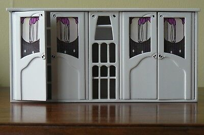 Dolls House Emporium Charles Rennie Mackintosh Drawing Room Bookcase 12th scale
