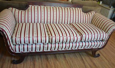 Antique American Empire Couch