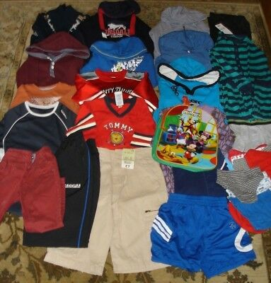 Wholesale Job Lot 30 Pieces Boys Mixed Clothing  New With & Without Tags & Used