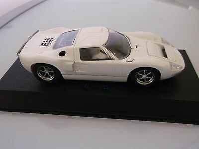 Scalextric Ford GT40 , WHITE , NEW , Mint Boxed