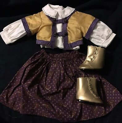 American Girl Doll Cecile's Holiday Outfit