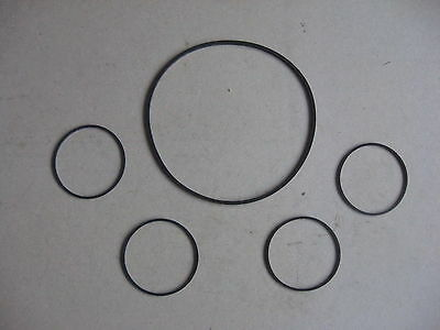 Daimler Conquest Saloon & DHC Instrument Rubber Seal Set