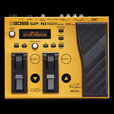 Boss GP-10GK Guitar Processor and Synth Pedal with GK-3 Divided Pickup