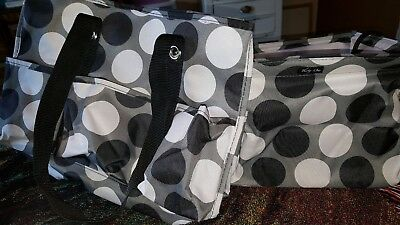 Thirty-one 31 lot of 2 square utility tote  organizing utility