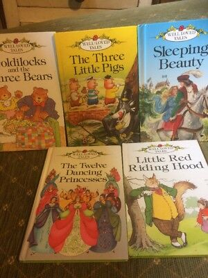 Ladybird Books - Well Loved Tales Bundle Of 5 Books