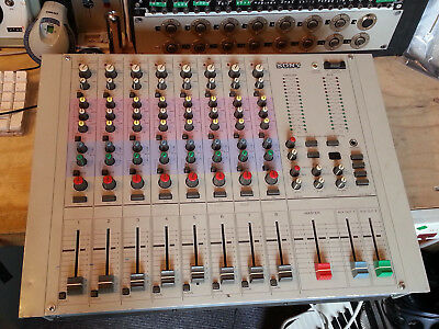 Vintage Sony MXP29 Broadcast Recording Mixer w 6 Mic Microphone Pre Amp Preamp