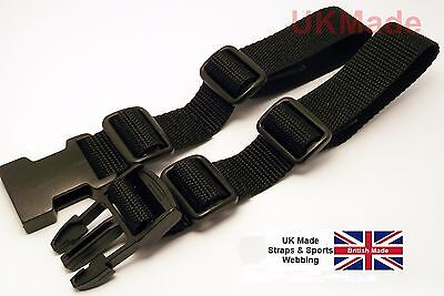Rucksack Universal Sternum Strap Open Loop Chest Strap 25mm Webbing UK Made