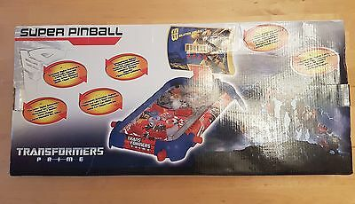 Transformers Prime Super Pinball Electronic Game NEW