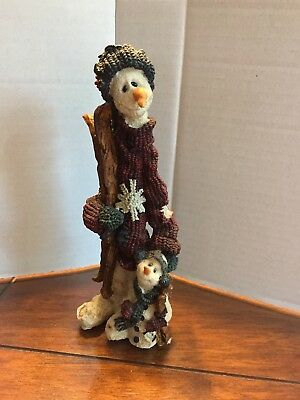 Boyds Bears Folkstone Collection Jean Claude & Jacques...The Skiers #2815