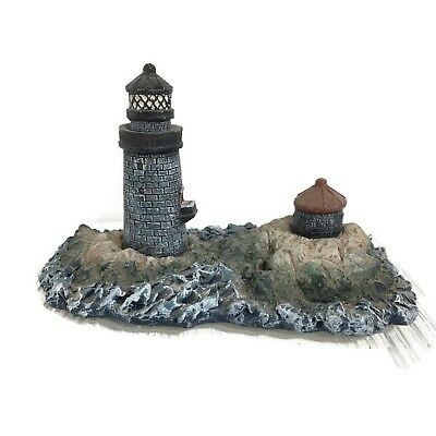 Graves MA Lighthouse for Giftcraft #846581 Hand-painted *Misspelled Wording