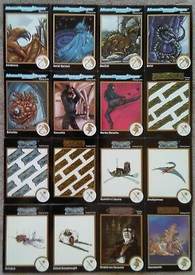 Lot 16 Different 1992 TSR Advanced Dungeons & Dragons 2nd Edition Trading Cards