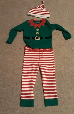 Christmas elf outfit size 12-18 months