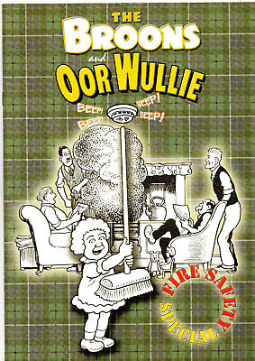 The Broons and Oor Wullie Fire Safety Specials