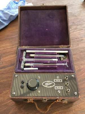 Vintage HAYDER VIOLET RAY OZONE Therapy Quack Medical Device
