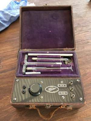 Vintage Working HAYDER VIOLET RAY OZONE Therapy Quack Medical Device