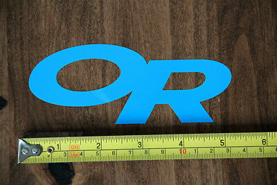 OUTDOOR RESEARCH Gear STICKER Decal DIE CUT New BLUE