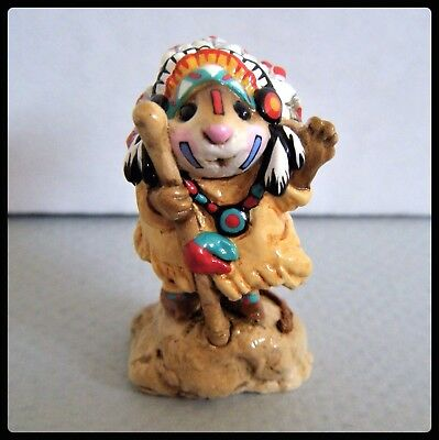 Wee Forest Folk Chief Geronimouse M-107a -Retired-
