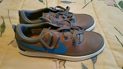 Nike Lunar Waverly Golf Shoes Spikeless Grey/Blue/White Mens 11.5