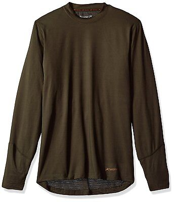 Terramar Men's Thermolator Climasense 4-Way Stretch Brushed (Loden / Small)