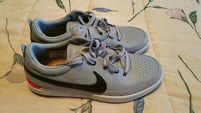 Nike Lunar Waverly Spikeless Golf Shoes Dove Grey Mens 11