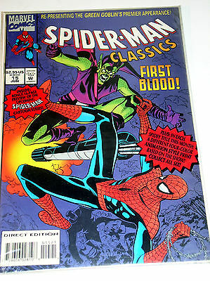 SPIDER-MAN CLASSICS #15  REPRINTS 1ST EVER GREEN GOBLIN from ASM #14