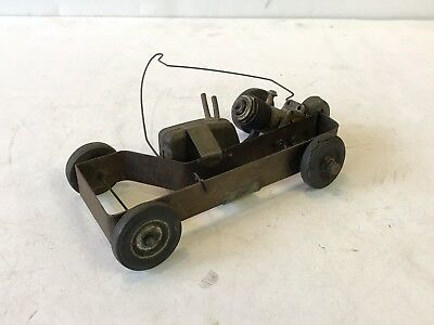 1950s Child Made Tether Car OK Cub 6.5""