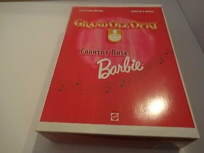 Barbie As 'country Rose' Grand Ole Opry Collection Mattel 17782