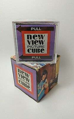 New View Picture Cube With Original Box - Vintage