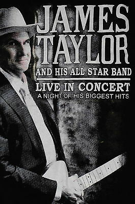 """""""James Taylor 2014 Live at the Hollywood Bowl"""" T-Shirt – Music Tour - S"""