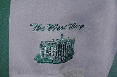 """West Wing – Bowling Shirt"" Starware TV Film Crew Item-XL"